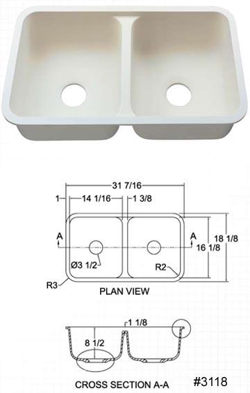 Hi Macs Sinks And Bowls Custom Granite Countertops